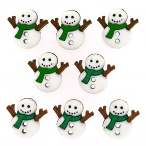 CuteSnowmenGreen