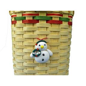 Snowman Wreath Ornament
