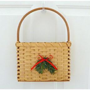 Easy Weave Christmas Door