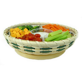 Lazy Susan Snack Tray