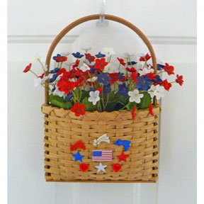 Easy Weave Stars and Stripes Door Basket Kit